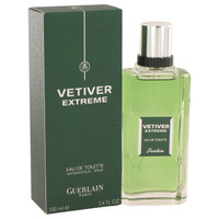 Vetiver Extreme By Guerlain 3.4 oz Eau De Toilette Spray for Men