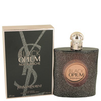 Black Opium Nuit Blanche By Yves Saint Laurent 3 oz Eau De Parfum Spray for Women