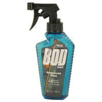 Bod Man American Blue By Parfums De Coeur 8 oz Body Spray for Men