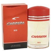 Carrera Red By Vapro International 3.4 oz Eau De Toilette Spray for Men