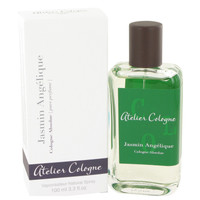 Jasmin Angelique By Atelier Cologne Gift Set -- 3.4 oz Eau De Toilette Spray + 3.4 oz Shower Gel + Gold Money Clip for Men