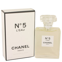 No. 5 L'Eau By Chanel 3.4 oz Eau De Toilette Spray for Women