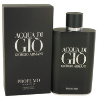 Acqua Di Gio Profumo By Giorgio Armani 6 oz Eau De Parfum Spray for Men