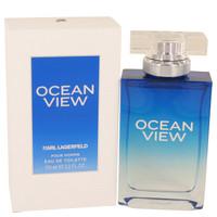 Ocean View By Karl Lagerfeld 3.3 oz Eau De Toilette Spray for Men