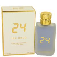 24 Ice Gold By Scentstory 3.4 oz Eau De Toilette Spray for Men
