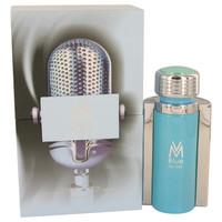 VM Blue By Victor Manuelle 3.4 oz Eau De Toilette Spray for Men