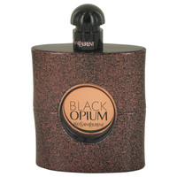 Black Opium By Yves Saint Laurent 3 oz Eau De Toilette Spray Tester for Women