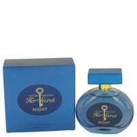 Her Secret Night By Antonio Banderas 2.7 oz Eau De Toilette Spray for Women