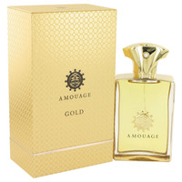 Gold By Amouage 3.4 oz Eau De Parfum Spray for Men