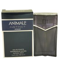 Instinct By Animale 3.4 oz Eau De Toilette Spray for Men