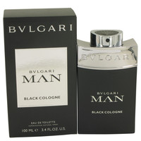Man Black Cologne By Bvlgari 3.4 oz Eau De Toilette Spray for Men