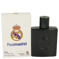 Real Madrid Black By Air Val International 3.4 oz Eau De Toilette Spray for Men
