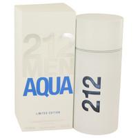 212 Aqua By Carolina Herrera 3.4 oz Eau De Toilette Spray for Men
