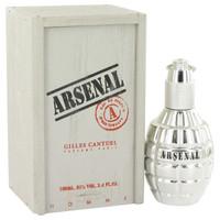 Arsenal Platinum By Arsenal 3.4 oz Eau De Parfum Spray Tester for Men