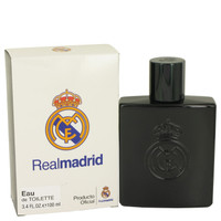 Real Madrid Black By Air Val International 3.4 oz Eau De Toilette Spray Tester for Men