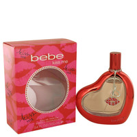 Kiss Me By Bebe 3.4 oz Eau De Parfum Spray for Women