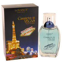 Casanova In Vegas By Lovance 3.4 oz Eau De Toilette Spray for Men