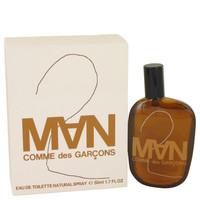 Comme Des Garcons 2 By Comme Des Garcons 1.7 oz Eau De Toilette Spray for Men