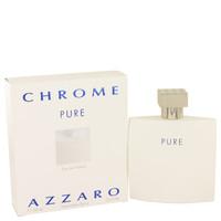 Chrome Pure By Azzaro 3.4 oz Eau De Toilette Spray for Men
