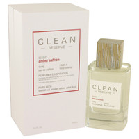 Amber Saffron By Clean 3.4 oz Eau De Parfum Spray for Women