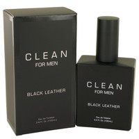 Black Leather By Clean 3.4 oz Eau De Toilette Spray for Men