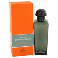 Eau De Gentiane Blanche By Hermes 3.3 oz Eau De Cologne Spray Unisex