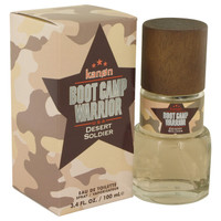 Boot Camp Warrior Desert Soldier By Kanon 3.4 oz Eau De Toilette Spray for Men