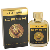 Cash By La Rive 3.3 oz Eau De Toilette Spray for Men