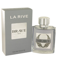 Brave By La Rive 3.3 oz Eau De Toilette Spray for Men