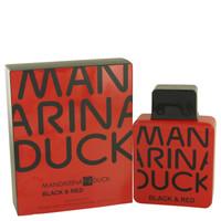 Black & Red By Mandarina Duck 3.4 oz Eau De Toilette Spray for Men