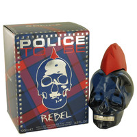 Police To Be Rebel By Police Colognes 4.2 oz Eau De Toilette Spray for Men