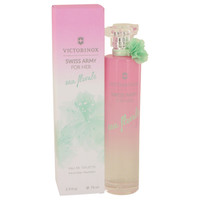 Swiss Army Eau Florale By Victorinox 2.5 oz Eau De Toilette Spray for Women