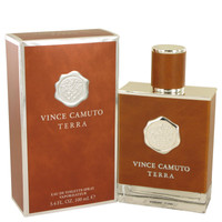 Terra By Vince Camuto 3.4 oz Eau De Toilette Spray for Men