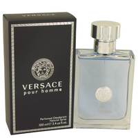 Pour Homme By Versace 3.4 oz Deodorant Spray for Men