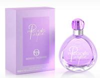 Precious Purple By Sergio Tacchini 3.3 oz Eau De Toilette Spray for Women