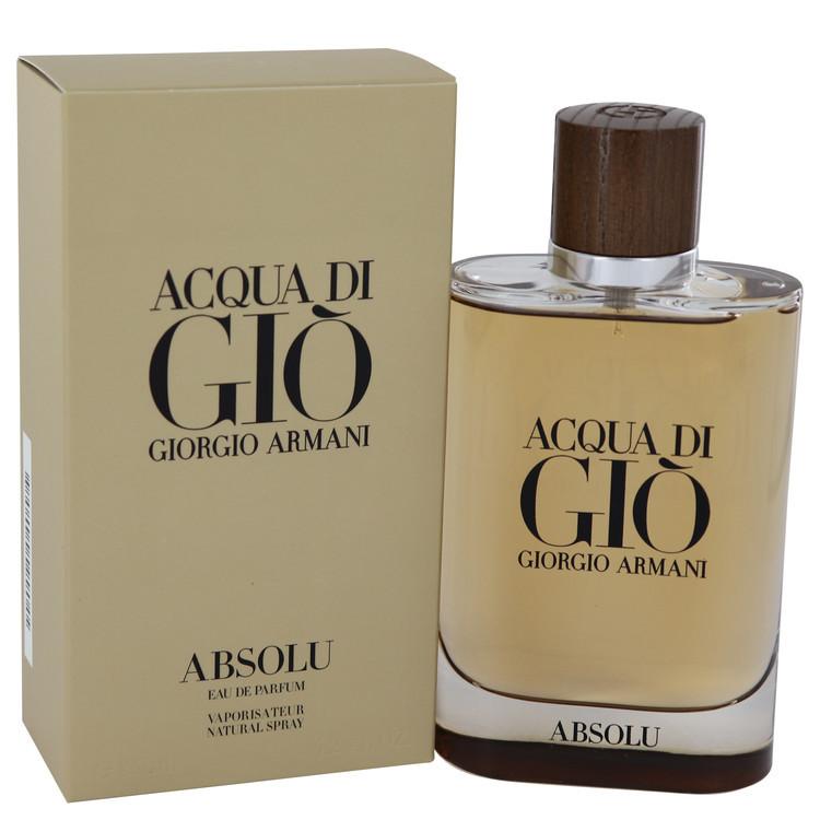 8b44d7bb33c7 Acqua Di Gio Absolu By Giorgio Armani Eau De Parfum Spray 4.2 oz ...