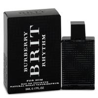 Burberry Brit Rhythm by Burberry 0.17 oz Mini EDT for Men