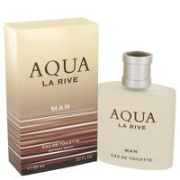 La Rive Aqua by La Rive 3 oz Eau De Toilette Spray for Men