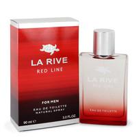 La Rive Red Line by La Rive 3 oz Eau De Toilette Spray for Men