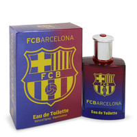 FC Barcelona by Air Val International 3.4 oz Eau De Toilette Spray for Men