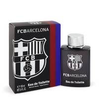FC Barcelona Black by Air Val International 3.4 oz Eau De Toilette Spray for Men