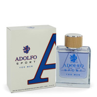 Adolfo Sport by Adolfo 3.4 oz Eau De Toilette Spray for Men