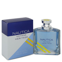 Nautica Voyage Heritage by Nautica 3.4 oz Eau De Toilette Spray for Men
