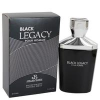 Black Legacy Pour Homme by Jean Rish 3.4 oz Eau De Toilette Spray for Men