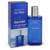 Cool Water Ocean Extreme by Davidoff 2.5 oz Eau De Toilette Spray for Men
