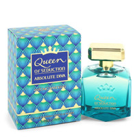 Queen of Seduction Absolute Diva by Antonio Banderas 2.7 oz Eau De Toilette Spray for Women