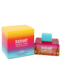 Radiant Seduction Blue by Antonio Banderas 3.4 oz Eau De Toilette Spray for Women