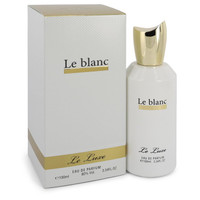 Le Luxe Le blanc by Le Luxe 3.4 oz Eau De Parfum Spray for Women