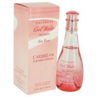 Cool Water Sea Rose Caribbean Summer by Davidoff 3.4 oz Eau De Toilette Spray for Women