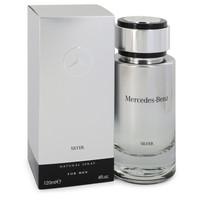 Mercedes Benz Silver by Mercedes Benz 4 oz Eau De Toilette Spray for Men